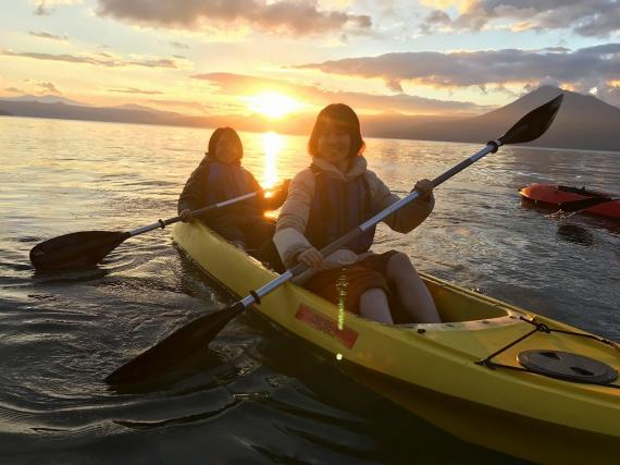 One or Two full days at Lake Shikotsu, with a local outdoor guide